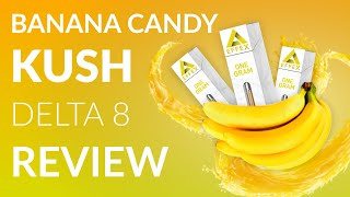 EFFEX Delta 8 THC Banana Candy Kush Vape Cartridge Review - BEST BANANA - YouTube