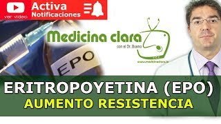 Eritropoyetina, Epo, Ciclismo y resistencia deporte. Riesgos y beneficios terapeuticos.