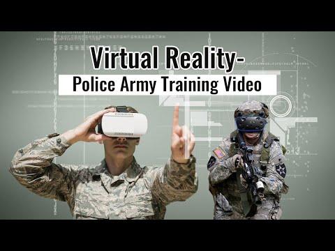 Virtual Reality - Police Army Training Video