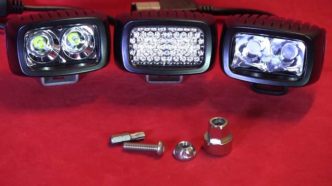 Anti Theft Kit For Srm Amp Srq Series Led Rigid Industries