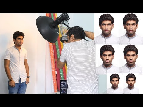 Passport Size Photography Setup In Easy Steps For Beginners