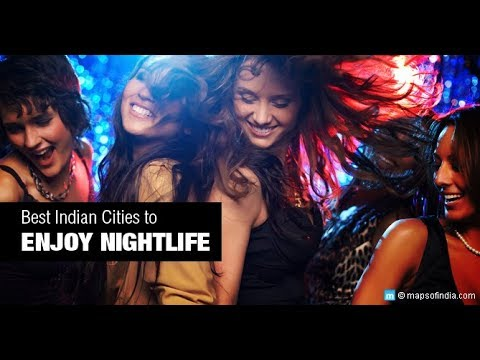 Top 5  Most Happening Nightlife Cities in India. | New Year Special