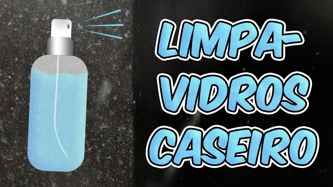 #1D88AE Limpa vidros caseiro: simples e barato   810 Limpar Vidros E Janelas
