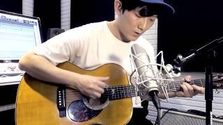 《月牙灣》 A-Lin 黄丽玲版本 (前半段木吉他 Cover by Raven Lee