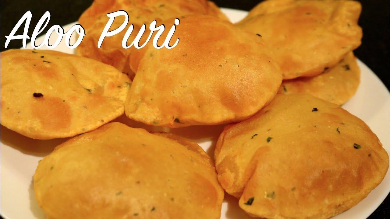 how to make aloo puri