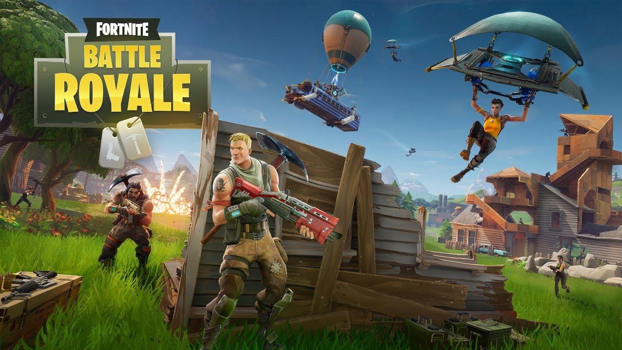 Fortnite Battle Royale Full Match Gameplay