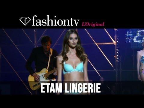 Etam Lingerie Fall/Winter 2014-15 Show ft Izabel Goulart, Azealia Banks, Eve | FashionTV
