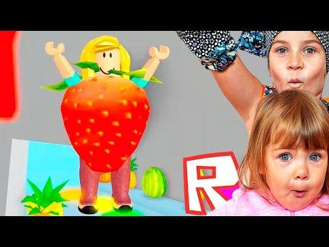 ПОБЕГ С КУХНИ в РОБЛОКС веселое ВИДЕО ДЛЯ ДЕТЕЙ игровой мультик детская игра Roblox