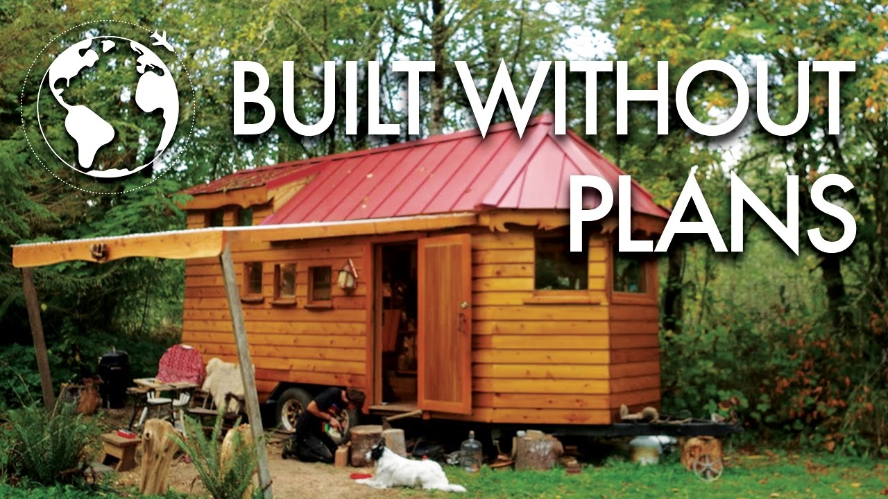 beautiful trailer tiny home.  Artisan Crafts Beautiful Tiny House from Salvaged Trailer YouTube
