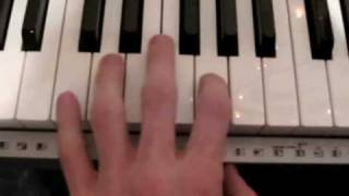 How to play My Heart will go on by Celine Dion on Piano Part 1 - Tutorial