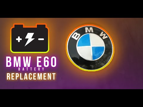 how to replace and install bmw 5 series battery e60 w tips and problem complete guide youtube. Black Bedroom Furniture Sets. Home Design Ideas
