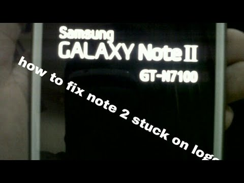 How to fix Samsung stuck on logo 100%