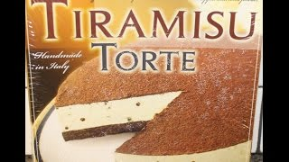 Trader Giotto's Tiramisu Torte Review