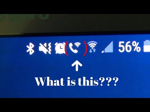 What Is This Icon Of A Phone With A WiFi Signal Next To It On Android + How To Turn It ON/OFF