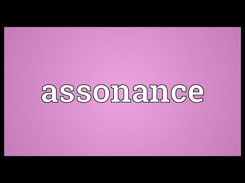 Assonance Meaning