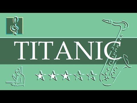 Tenor Sax  Notes Tutorial - My heart will go on - Titanic (Sheet music)