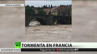 La tormenta Leslie deja al menos 13 muertos a su paso por Francia