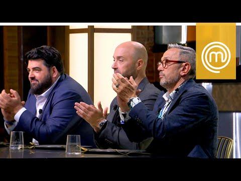 I giudici applaudono il piatto di Michele   MasterChef All Stars Italia