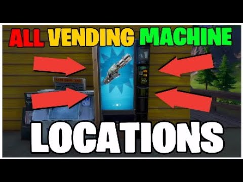 All New Vending Machine Locations (Fortnite Chapter 2 Season 2)
