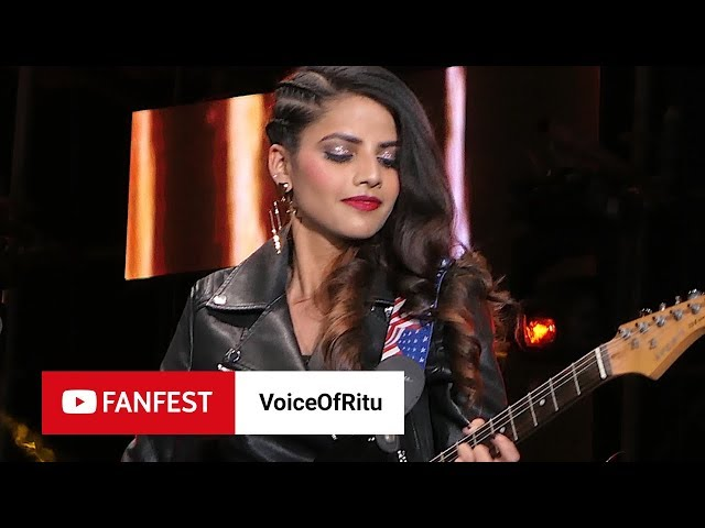 VoiceOfRitu @ YouTube FanFest Mumbai 2018