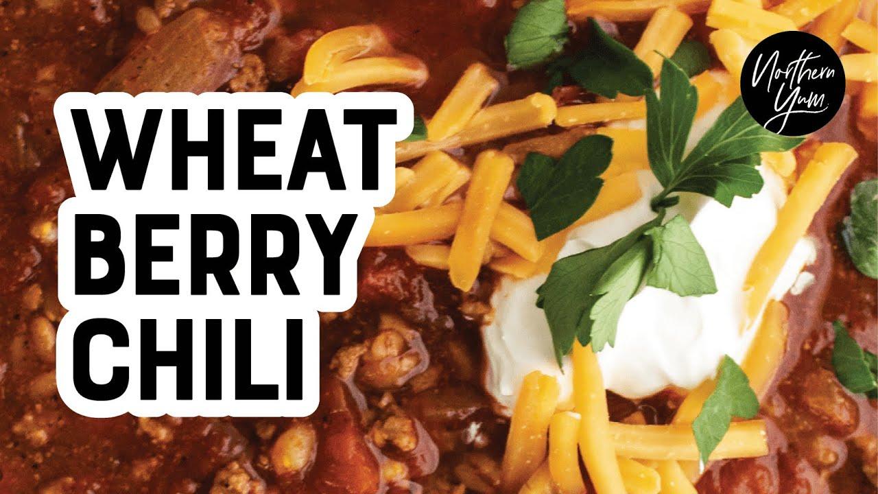 Hearty Wheat Berry Chili Recipe Youtube