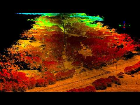 UAV Lidar Fly Through
