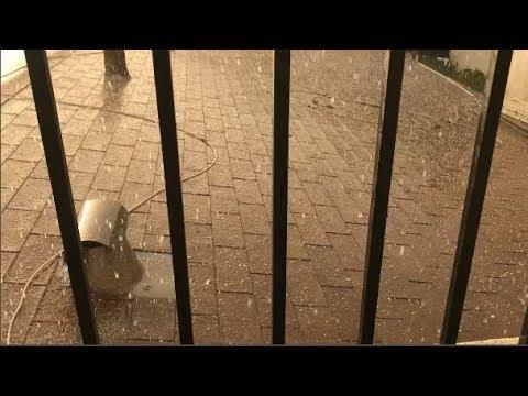 Hail Storm Hits Southern California
