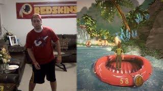Kinect Adventures - AntoDaBoss FaceCam!