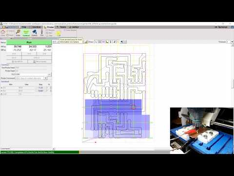 Design and mill PCB: Easy and Cheap (bCNC, UGS) – Part 4