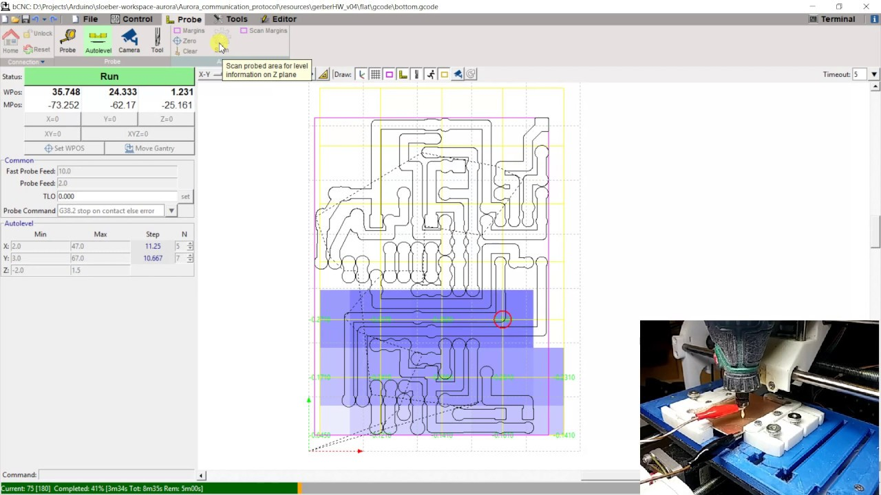 CNC Cyclone PCB Factory: settings and tests – Part 7 – Renzo
