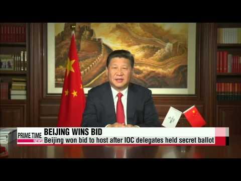 Beijing wins bid to host 2022 Winter Olympics 베이징, 2022년 동계 올림픽 주최권 승리