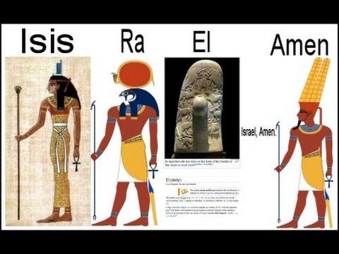 Essential Jordan Maxwell: ISIS-RA-EL = ISREAL(It's not holy). AMEN meaning.