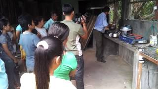 Demonstration of Insinkerator-based Puxin biogas system in Palawan to journalists