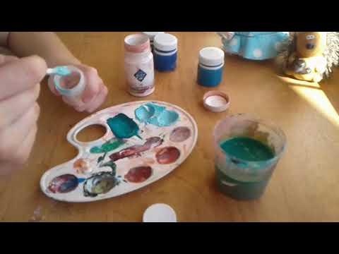 Как получить цвет мяты