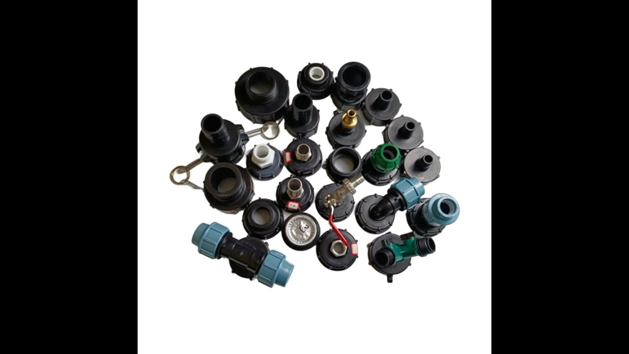 IBC ADAPTERS COUPLINGS 2 INCH outlet s60x6 IBC tote Fittings - YouTube
