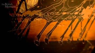 Prize amphora showing a chariot race