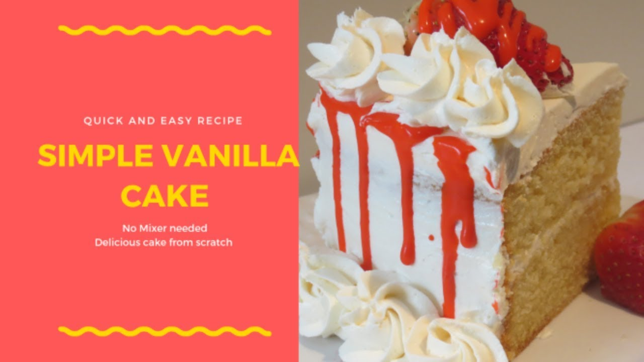 Download How to make Nigerian Cake | No Mixer