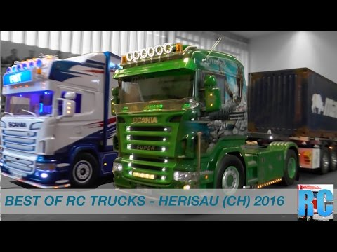 BEST OF RC TRUCK EVENT - NEW YEAR RC DRIVE SWITZERLAND - HERISAU 2016, RC TRUCK