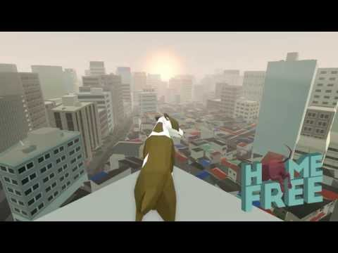 Home Free trailer - Play a dog lost in a procedurally generated city