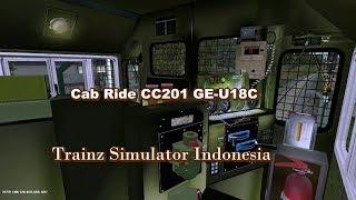 Trainz Simulator Indonesia Cab Ride CC201 Kereta Api Sancaka Surabaya Gubeng Mojokerto