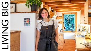 Young Woodworker Crafts Stunning Off-Grid Tiny House