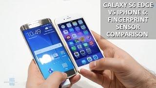 Galaxy S6 edge vs iPhone 6: fingerprint sensor comparison