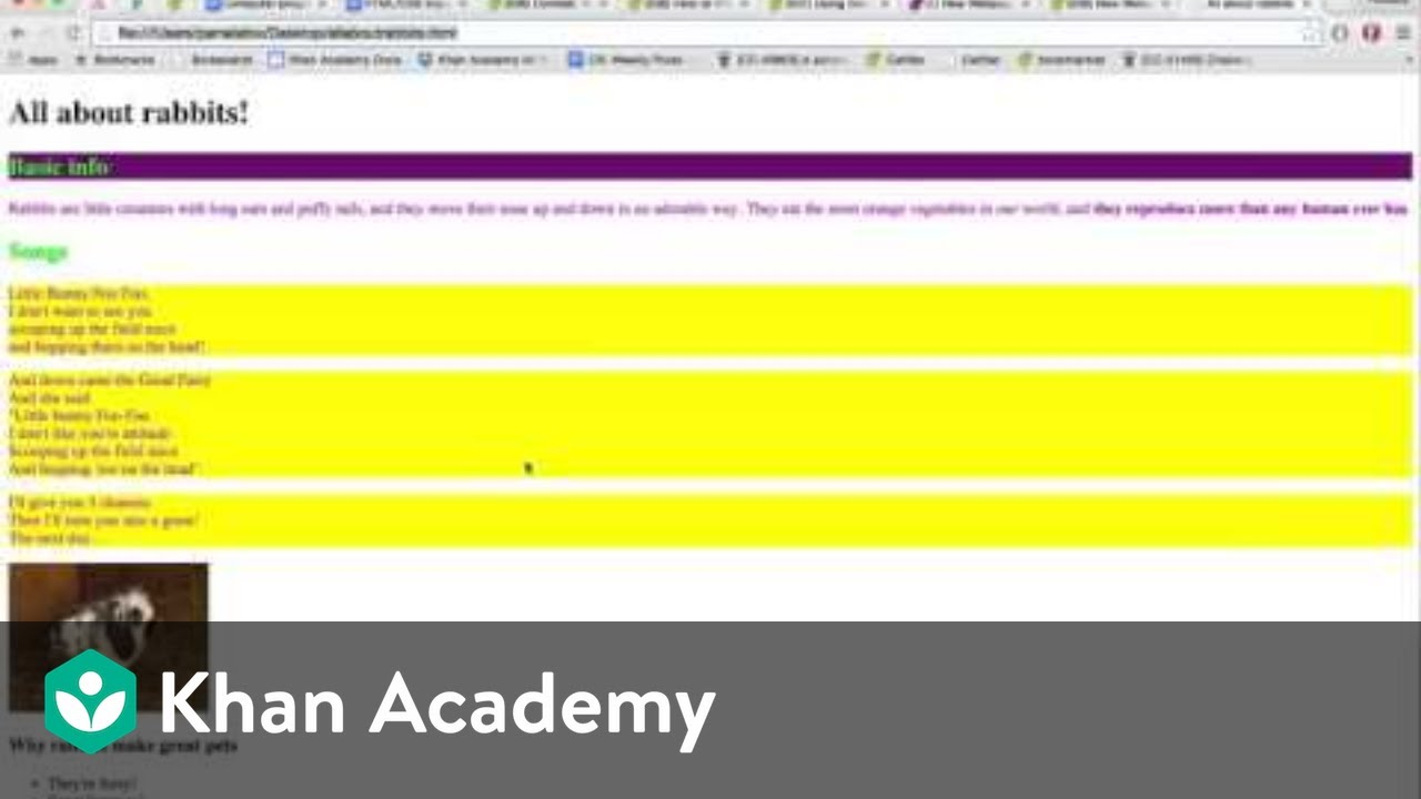 Developing webpages outside of Khan Academy (article) | Khan