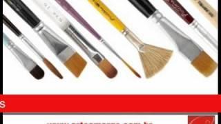 Pincéis Para Pintura Artística
