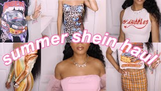SHEIN SUMMER TRY-ON CLOTHING HAUL! *bomb items*