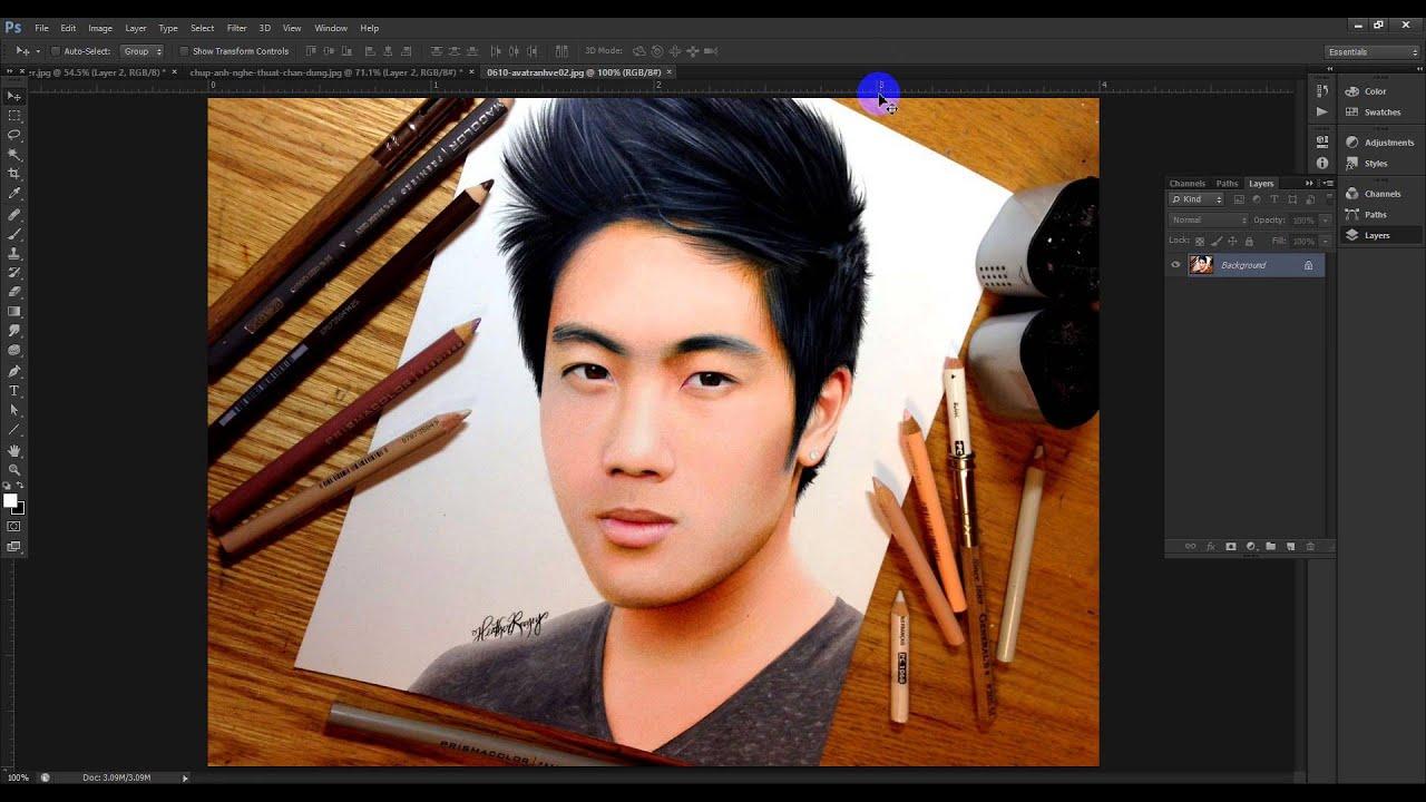 Tạo ảnh vẽ bút chì