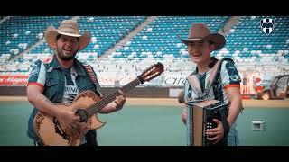 La canción interpretada por Israel Morales, jóven aficionado al Monterrey y que le preparo la canción.