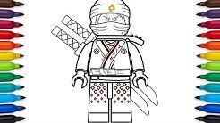 How to draw Lego Ninjago Kai from the Lego Ninjago Movie