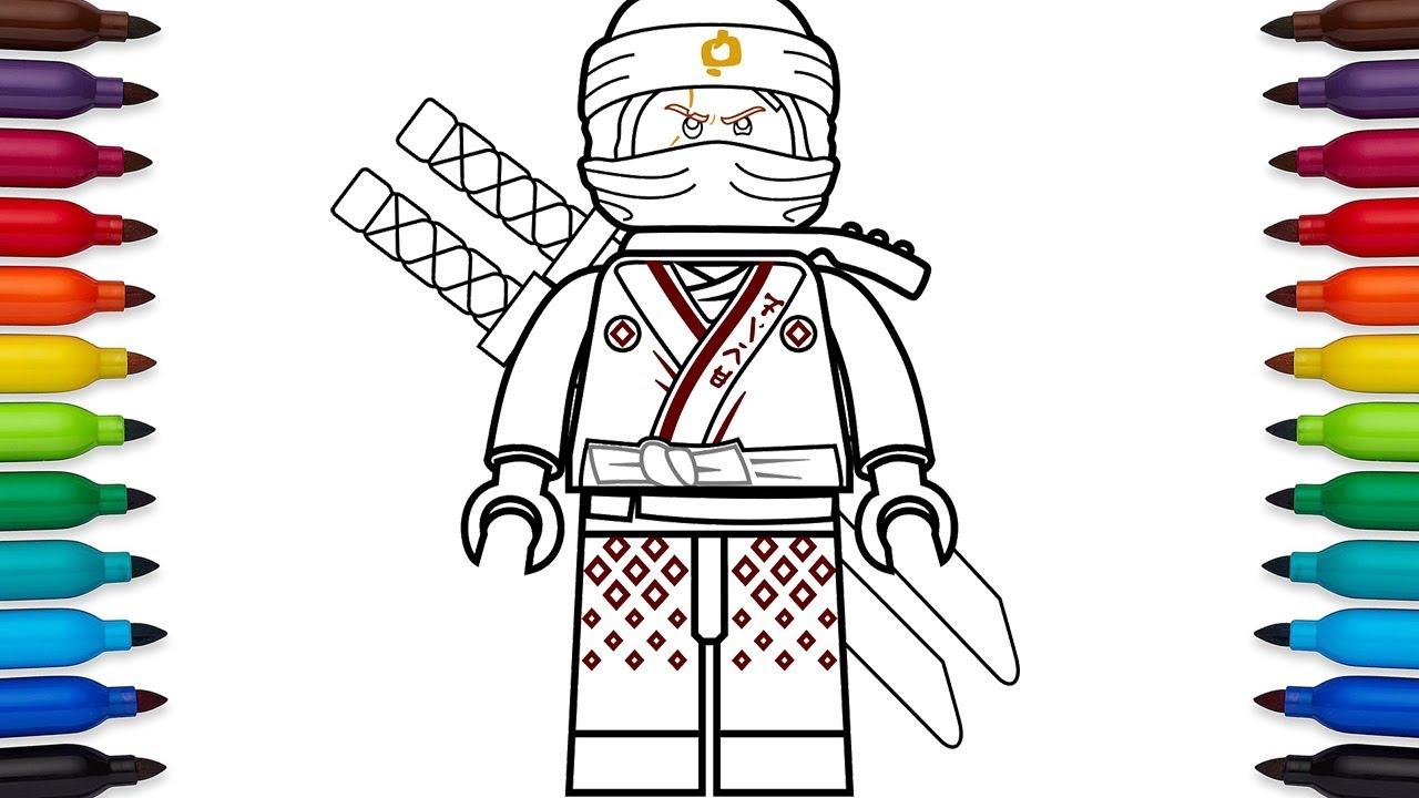 How to draw Lego Ninjago Kai from