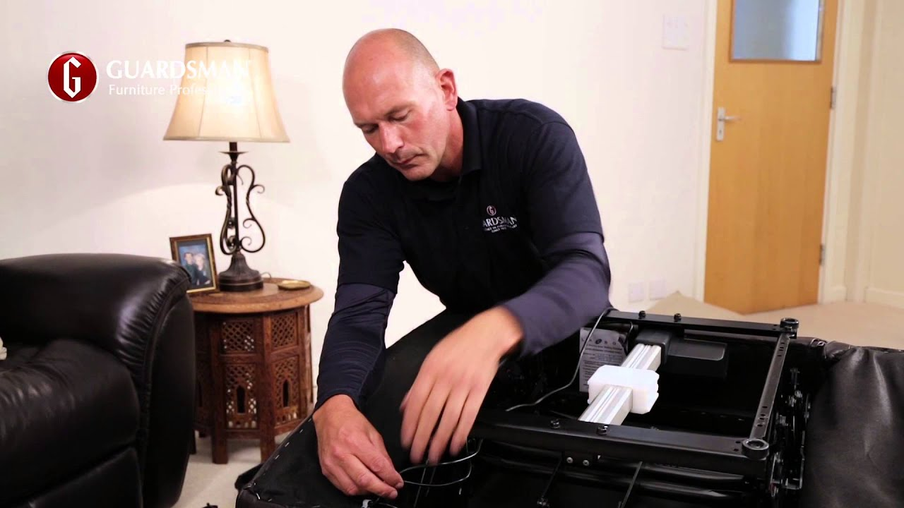 How we repair a broken recliner chair - Guardsman In-Home Care u0026 Repair - YouTube  sc 1 st  YouTube : fix recliner - islam-shia.org